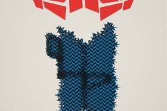 Untitled, screen print, 31.5x40.5cm, 2011